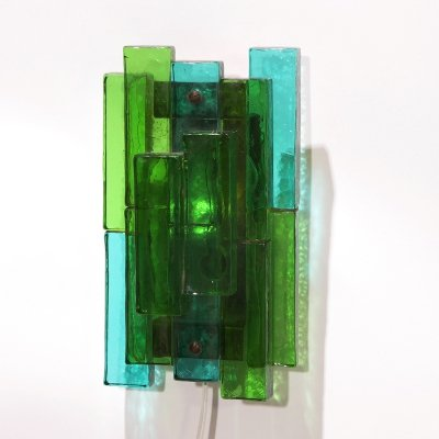 Glass Sconce by Svend Aage Holm Sørensen for Holm Sorensen And Co, 60s