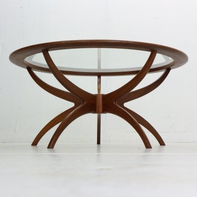 G-Plan Teak 'Astro/Spider' Coffee Table by Victor Wilkins, 1960's