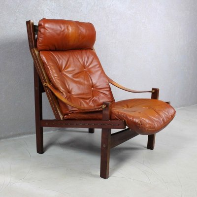 Pair of Hunter Easy Chairs by Torbjørn Afdal, 1970s