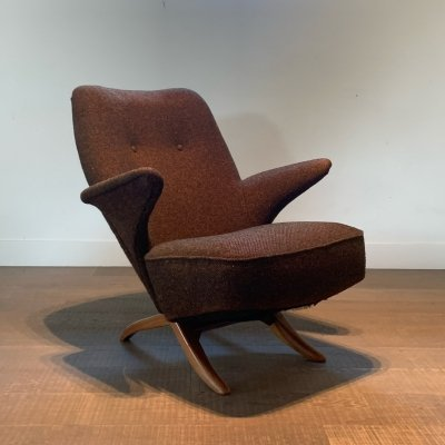 Artifort Penguin armchair by Theo Ruth, 1950s