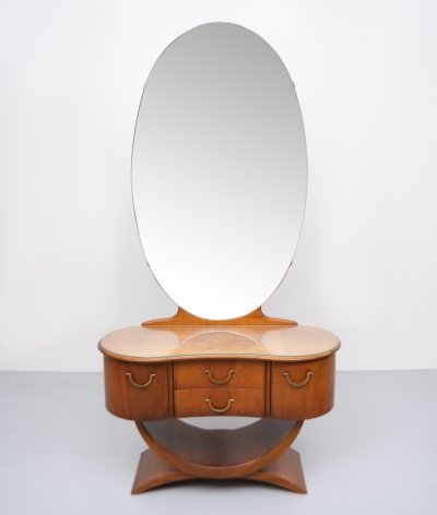 Dressing Table with mirror by A. Patijn for Zijlstra Joure, 1950s