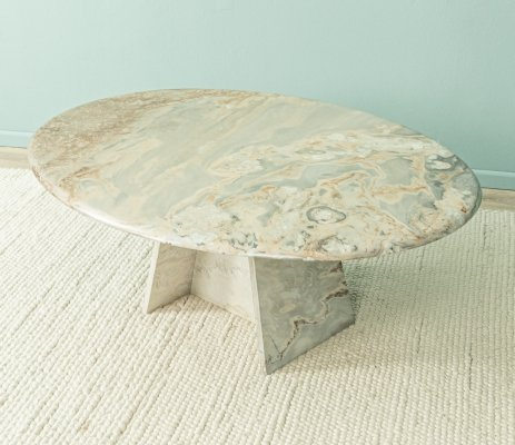 1960s coffee table in marble