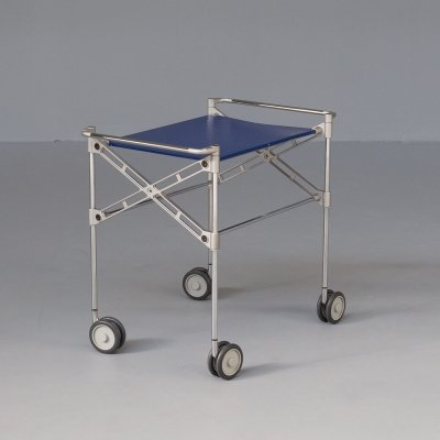 Antonio Citterio & Oliver Löw 'oxo' serving table trolley for Kartell