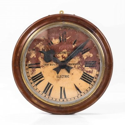 Wooden Gents of Leicester Wall Clock