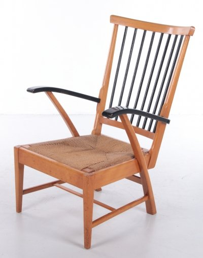 Wooden Relax Chair, The Netherlands 1950s/60s