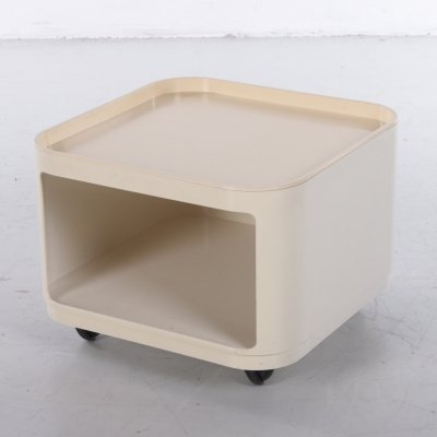 Vintage cube table by Anna Castelli for Kartell, Italy 1960s