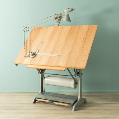 1950s architect´s table by Nestler