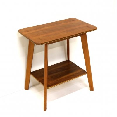 Vintage television table / side table, 1960s
