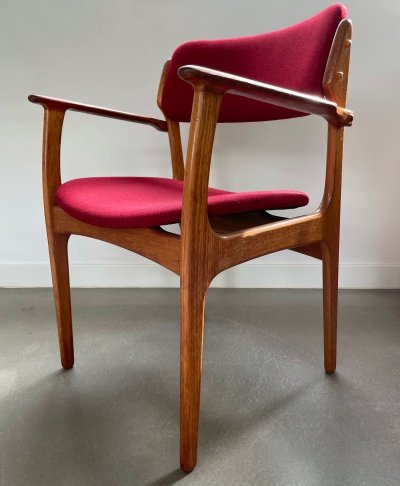 Danish design arm chair by Erik Buch for O.D. Mobler, 1960s