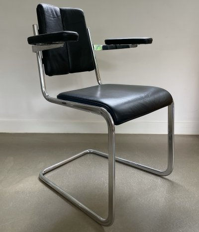 Tecta 'freischwinger' chair by Jean Prouvé, Germany 1970s