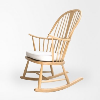 Ercol rocking chair model 7912 by Lucian Ercolani for Ercol, UK 1960's