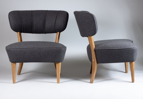 Pair of 1940s Lounge Chairs by Lisa Johansson-Pape, Stockmann Finland