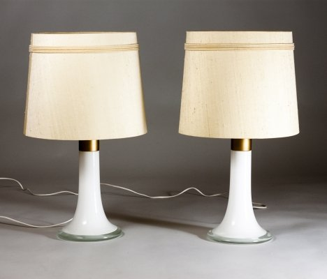Pair of Desk Lamps by Lisa Johansson-Pape for ORNO, Finland 1950s