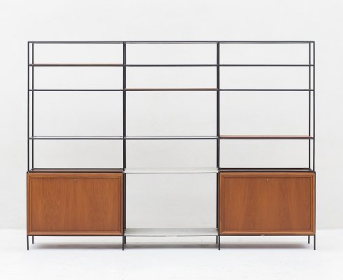 'Abstracta' Wall unit by Poul Cadovius, Danish design 1960's