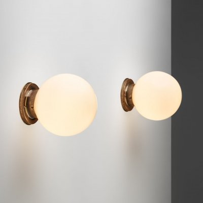 Paavo Tynell Model '2009' Ceiling Lights for Oy Taito Ab, Finland 1930s