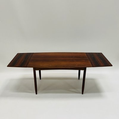 Rosewood extendable dining table by Topform, Netherlands 1960s