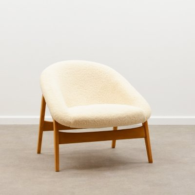 Rare 'Columbus' or '118' chair by Hartmut Lohmeyer for Artifort, 50s
