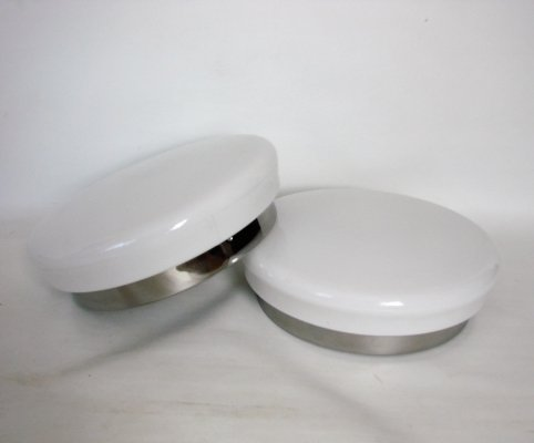 Pair of Modern wall lamps, 1980s