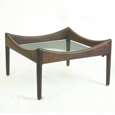 Rosewood Modus Coffee Table by Kristian Vedel for Soren Willadsen