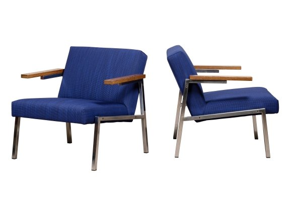 Pair of SZ66 lounge chairs by Martin Visser for Spectrum, 1960s