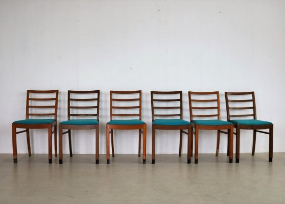 6 x vintage dining chair, 1960s