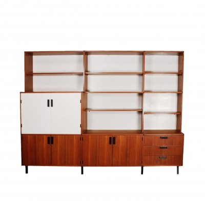 Vintage 'made to measure' wall unit by Cees Braakman for Pastoe