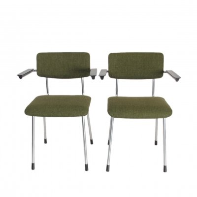 Set vintage armchairs model 1235 by Gispen, 1960s