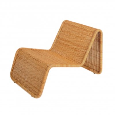 Vintage rattan easy chair by Ikea, 1980's