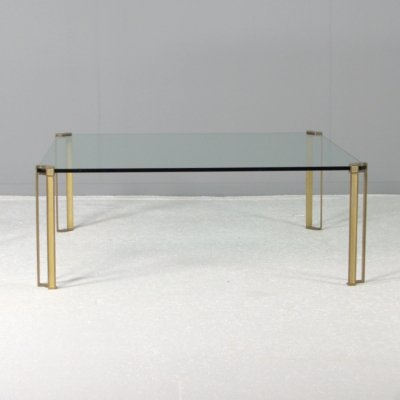 Large square coffee table model 'T24' by Peter Ghyczy, Netherlands 1970s