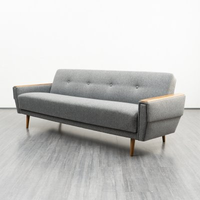 Mid-Century sofa with fold-out guest bed function, 1960s