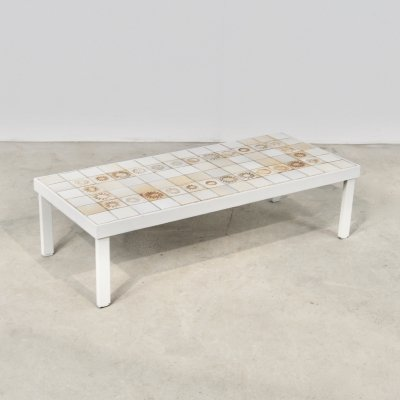 Sun Coffee Table by Roger Capron, 1960s