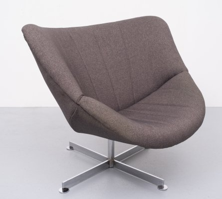 Lip lounge chair by Rudolf Wolf for Rohé Noordwolde, 1960s