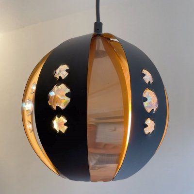 Small pendant lamp by Werner Schou for Coronell, 1960s