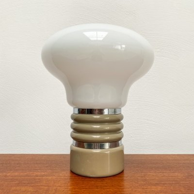 Vintage Space Age Light Bulb Table Lamp, 1970s