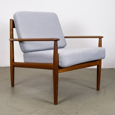 Teak Lounge Chair by Grete Jalk for France & Son