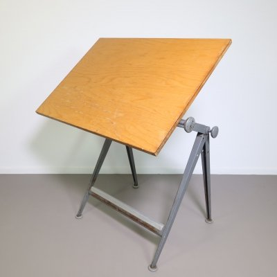 Reply drafting table writing desk by Wim Rietveld & Friso Kramer for Ahrend de Cirkel, 1960s