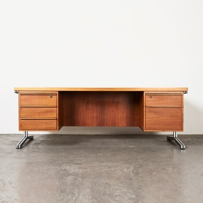 Large Executive Desk by Theo Tempelman for AP Originals, 1960s