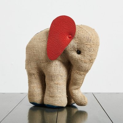Handmade therapeutic Elephant by Renate Muller, 1970s