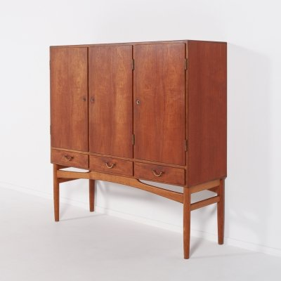 Mid-Century Danish Modern cabinet from Poul M. Volther, 1950's