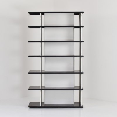 Bookcase / room divider by Wim Rietveld for Bijenkorf, The Netherlands 1960's