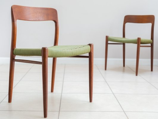 Niels Moller 75 Dining Chairs