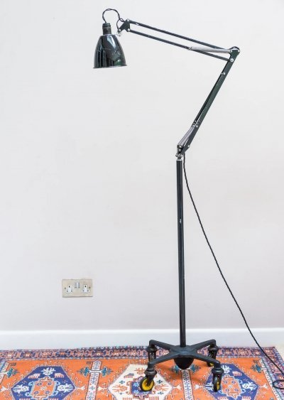 Anglepoise Floor Lamp Manufactured by Herbert Terry & Sons