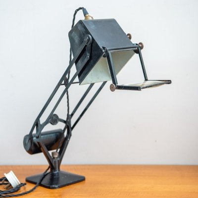 Hadrill & Horstmann 'Pluslite' Table Lamp With Magnifying Glass