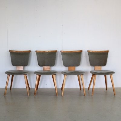 4 x vintage dining chair, 1950s