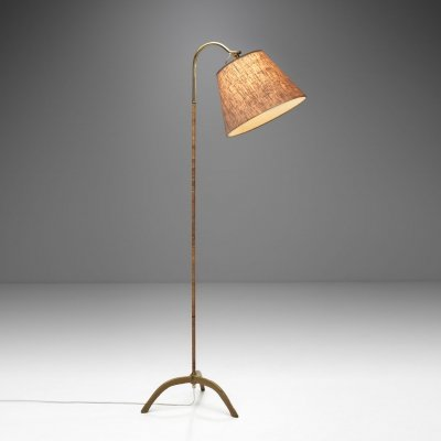 Paavo Tynell Floor Lamp Model '9609' for Oy Taito AB, Finland 1940s