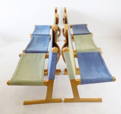 France & Son set of 6 chairs by Ditte & Adrian Heath