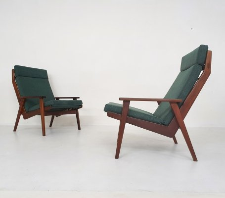 Set of two Rob Parry for Gelderland Lounge chairs, The Netherlands 1960's