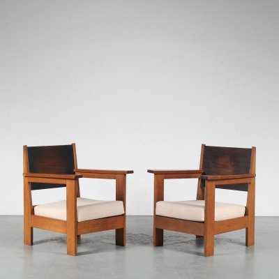 Haagse School Easy Chairs from the 1930s