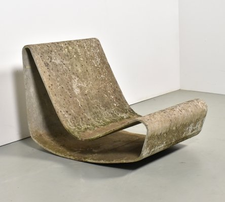 Loop lounge chair by Willy Guhl for Eternit SA, 1950s