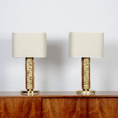 Set of 2 'Margot' table lamps by Angelo Brotto for Esperia, 1960s